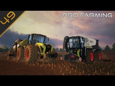 PRO Farming - Liquamatura con i DUE Claas Xerion #49