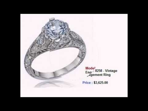 Vintage Engagement Rings Collection