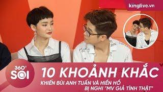 """KINGLIVE   10 khoảnh khắc khiến Bùi Anh Tuấn và Hiền Hồ bị nghi """"MV giả tình thật"""""""