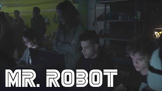 Mr. robot: season 3, episode 1 clip: elliot hacks the capture the flag tournament