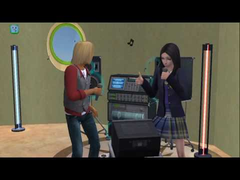 sims2 KARAOKE  teen_mixed_duo selection