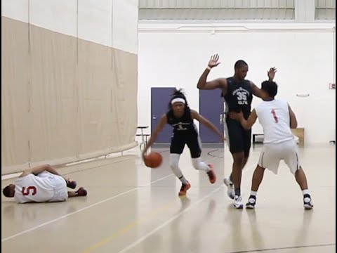 Terry Armstong breaks defender's ankles LITERALLY!!!