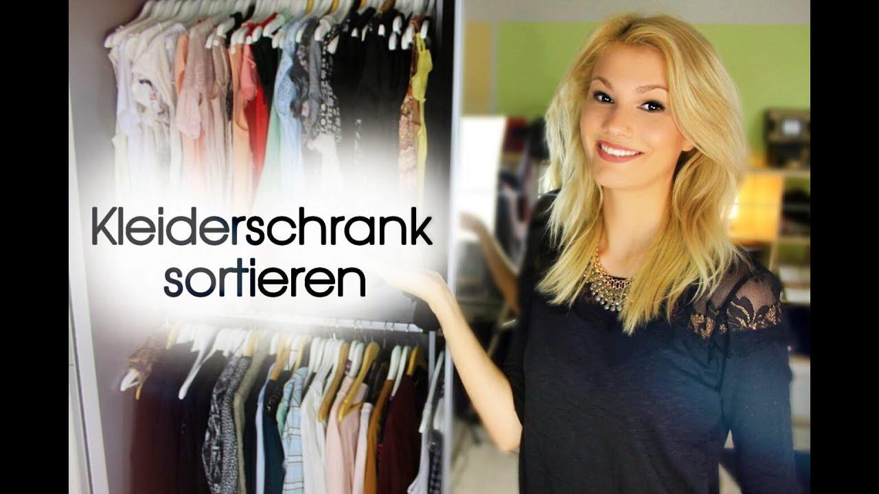 Kleiderschrank Organisieren Ordentlich Und Ubersichtlich Youtube