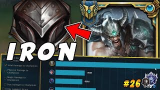 CHALLENGER Tryndamere Goes Into IRON! HARD Smurfing - League of Legends | Iron IV to Diamond Ep #26