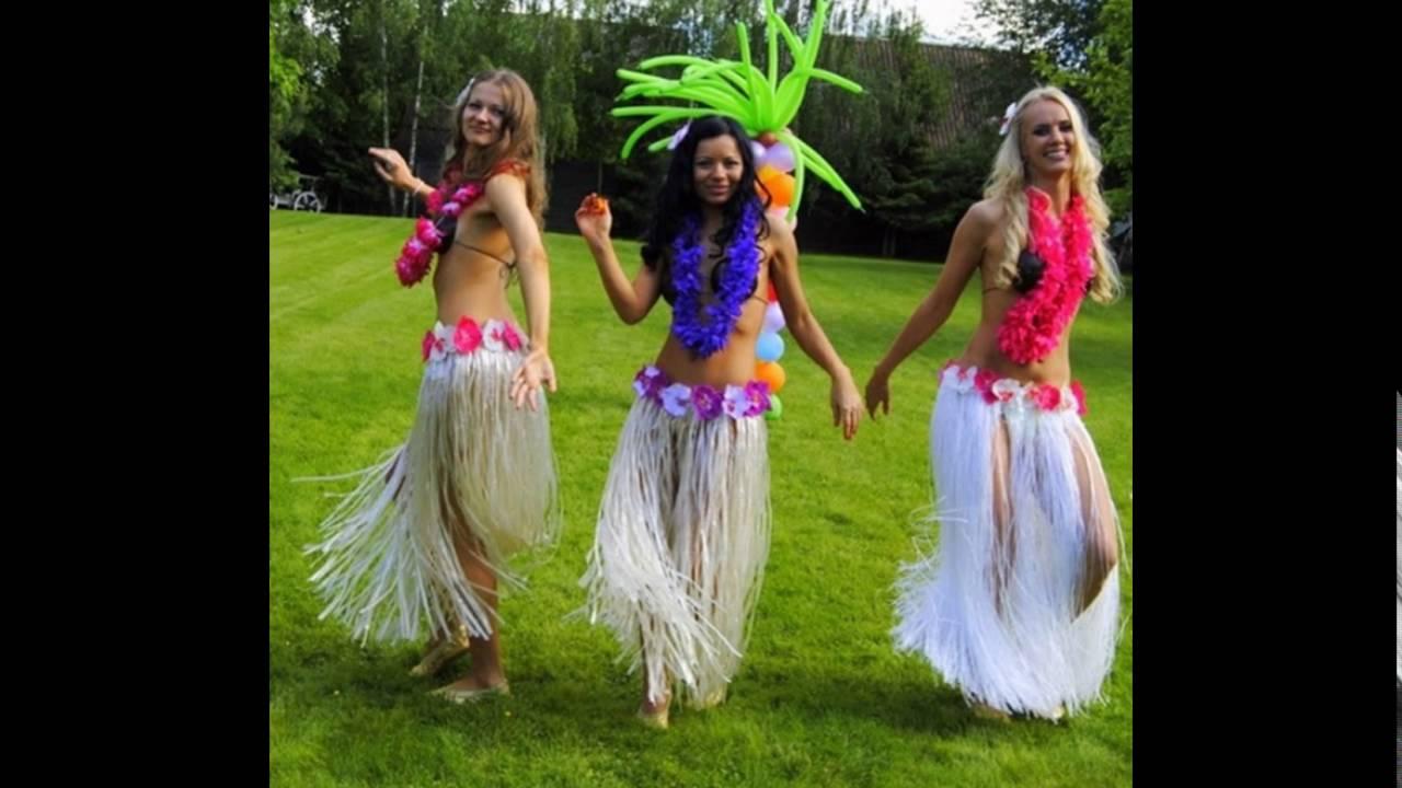 Гавайские костюмы сделать своими руками