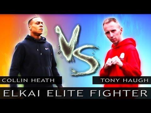 Elkai Elite Fighter on Xbox Kinect Live | Street Fighter x Tekken Style Gaming Parody