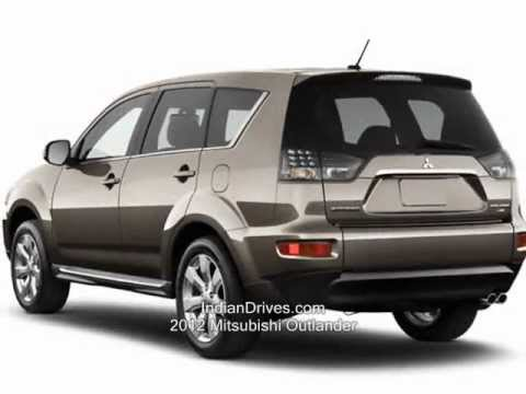 2012 Mitsubishi Outlander 7-seater SUV Launched - YouTube