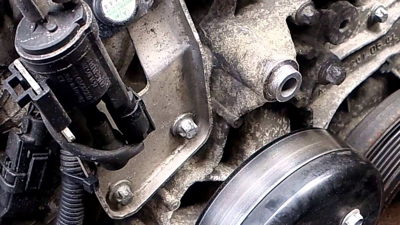 mercedes m112 v6 water pump replacement m113 similar youtube