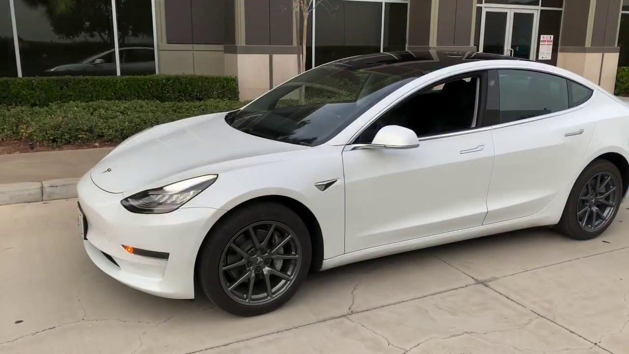 My Tesla Model 3 SR+ 2020 - Reintroduced - YouTube
