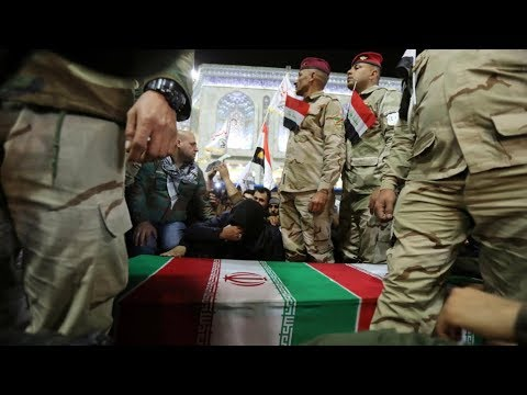Iran holds funeral processions for Qasem Soleimani