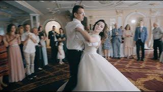 Свадебный клип (танцующие молодожёны)