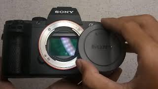 KAMERA SONY A7II A7 II BODY LIKE NEW IN BOX GARANSI SONY INDO  BEKAS