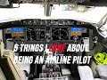 Five Things I LOVE About Being An Airline Pilot