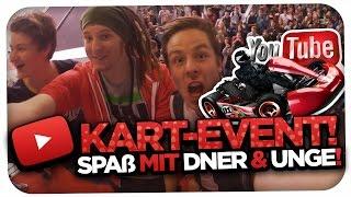 YOUTUBER KARTEVENT - LACHFLASH MIT UNGE & DNER! [REALLIFE] [HD]
