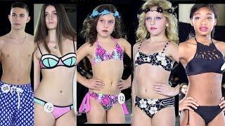 Children's Swimwear Fashion Show