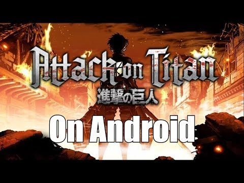Attack On Titan Android Fanmade Game   +Download