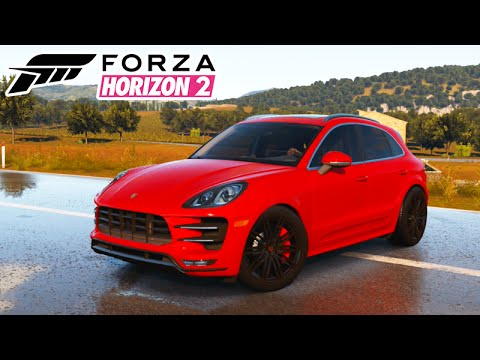 forza horizon 2 porsche macan monstro 47 youtube. Black Bedroom Furniture Sets. Home Design Ideas