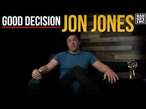 Jon Jones Made A Good Decision...