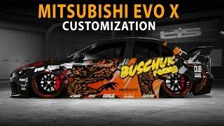 Midnight Club LA - Mitsubishi Evolution X (RYO) (Customization)
