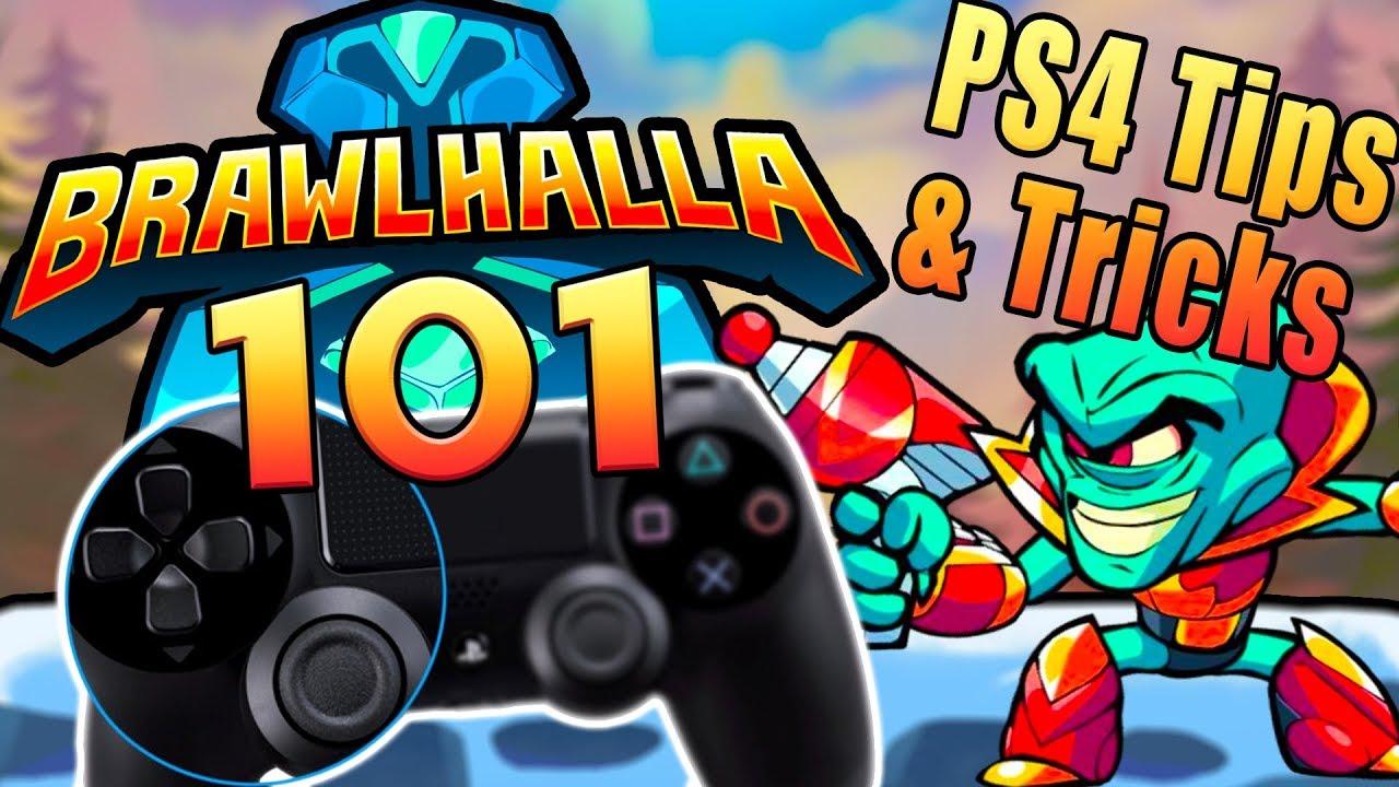 CONTROLS | Brawlhalla PS4 Tips | Brawlhalla 101