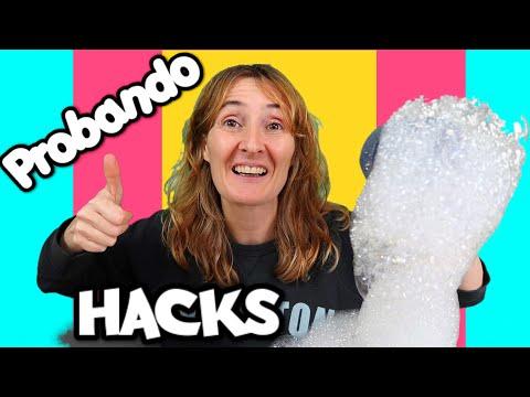 Probando TRUCOS RAROS de INTERNET - Life hacks divertidos y sorprendentes - Eva de Ponte las Pilas