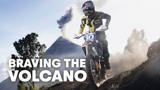 Riding A Dirt Bike 4000m Up The Acatenango Volcano