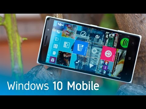 Windows 10 Mobile, análisis en español