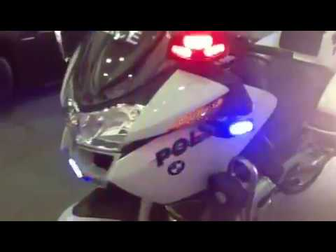 HG2 Emergency Lighting BMW RT1200 Police Lighting Package YouTube