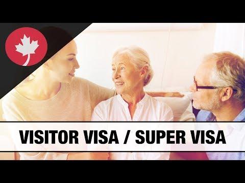 Should You Apply For A Super Visa Or A Visitor Visa?