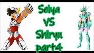 Cavalieri dello zodiaco - Saint Seiya 1vs1 - Seiya VS Shiryu - PART 4 ITA