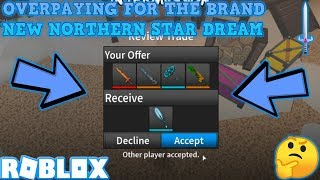 OVERPAYING FOR A NORTHERN STAR (ROBLOX ASSASSIN MASSIVE TRADES)