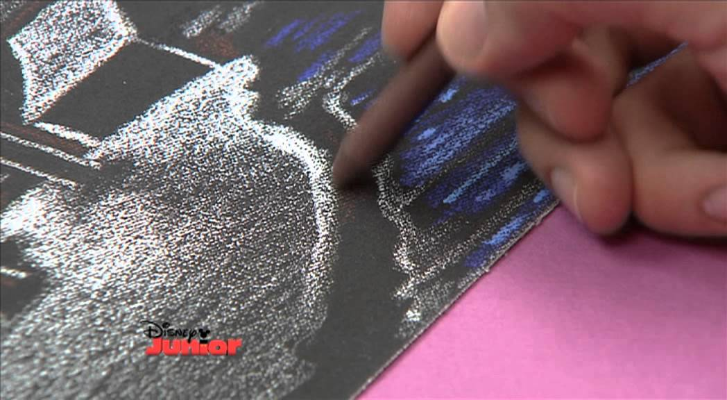 Art Attack Texture Drawing Sandpaper Youtube