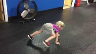 Novalee's Best Workout For Kids - Bear Crawls, Crab Walks & Mountain Climbs