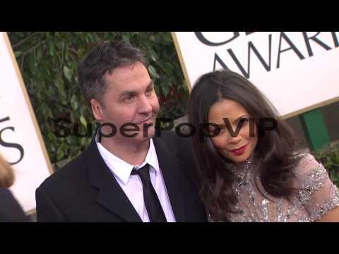 Ol Parker, Thandie Newton at 70th Annual Golden Globe Awa...