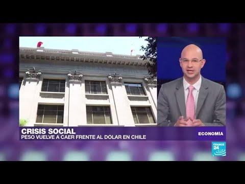 Caída del peso en Chile genera preocupación entre los inversores