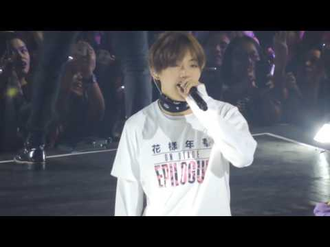 160730. BTS Epilogue in Manila. Miss Right (TAEHYUNG FOCUSED)