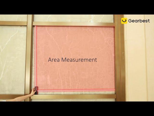 gocomma E50 Handheld Laser Distance Meter on