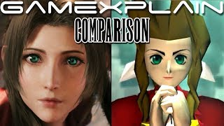 Final Fantasy VII Remake Head-to-Head Comparison (PS4 vs. PS1 - State of Play Trailer)