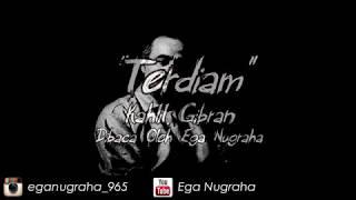 Puisi - Terdiam (Kahlil Gibran)