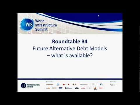 IJ World Infrastructure Summit - Live Stream: Future Alternative Debt Models
