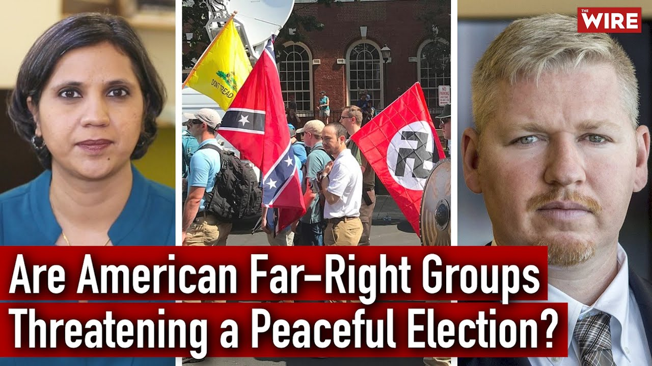 America's Extreme Right Wing: How Violent Political Polarisation Threatens a Peaceful Election?