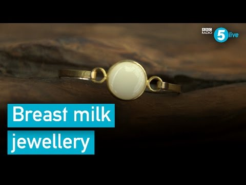 The mums turning their breast milk into jewellery