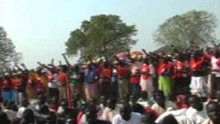 Christmas Video 2007 at Nasir County by Bang P Bol Part 1