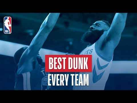 Best Dunk From Every Team   2018 NBA Season