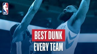 Best Dunk From Every Team | 2018 NBA Season
