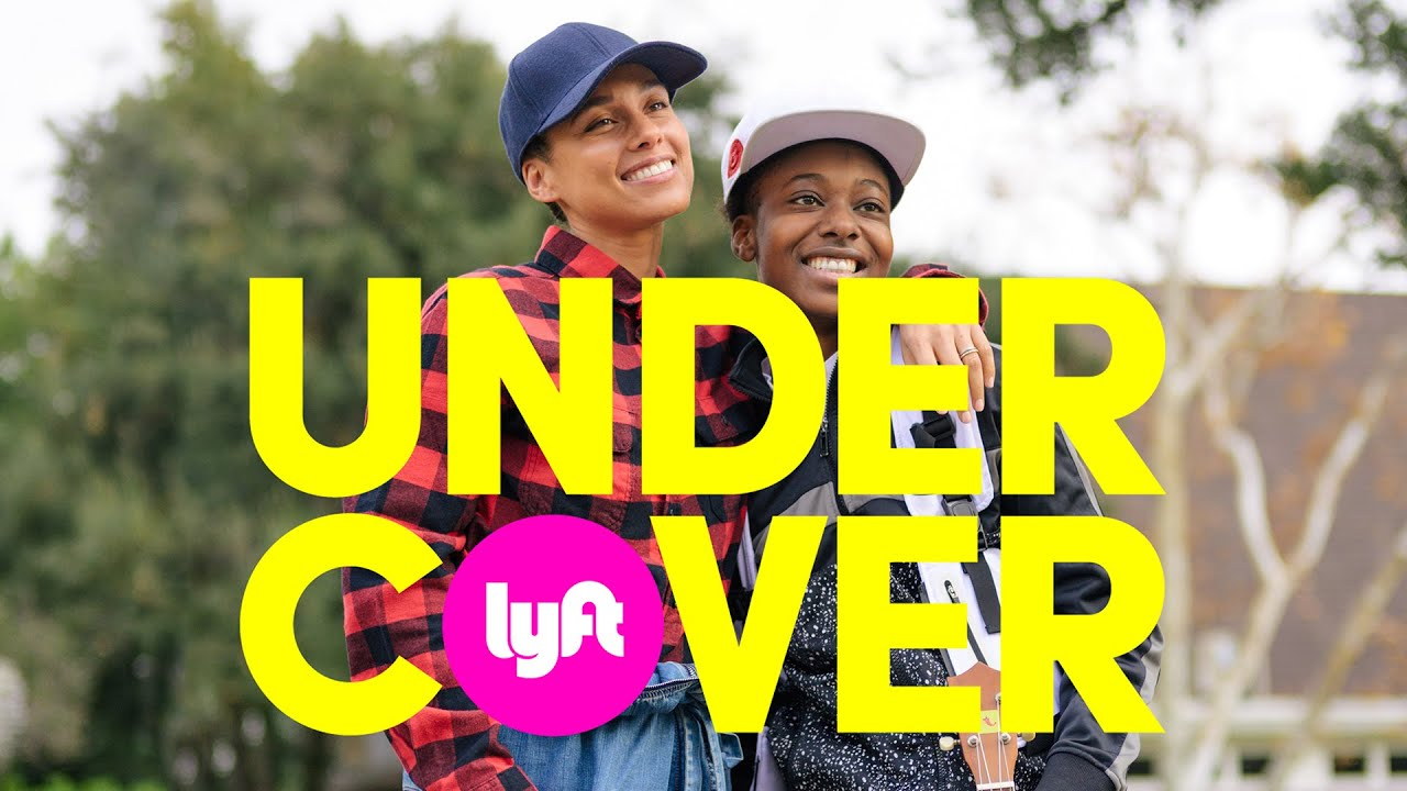Undercover Lyft with Alicia Keys