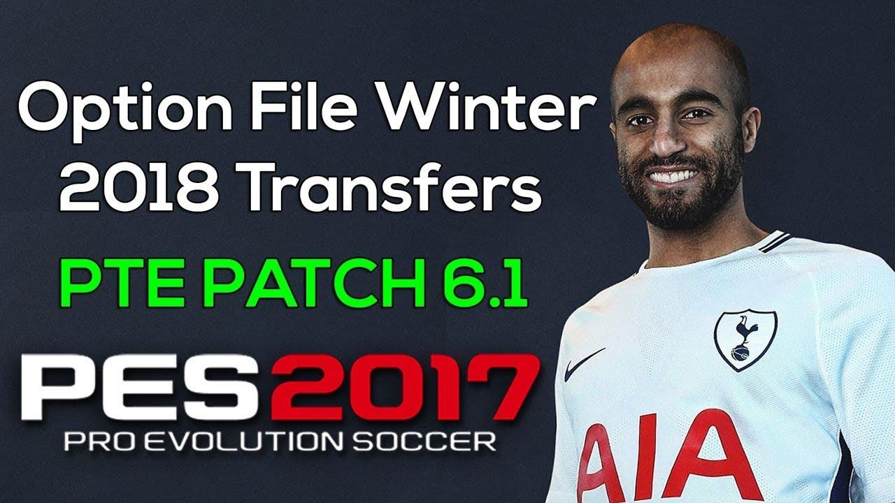 Option file pes 2017 final transfer 2019   PES 2017 Option File Next