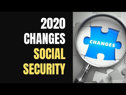 2020 Social Security Changes