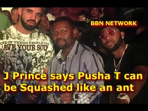 J Prince says Pusha T can be Squashed like an ant