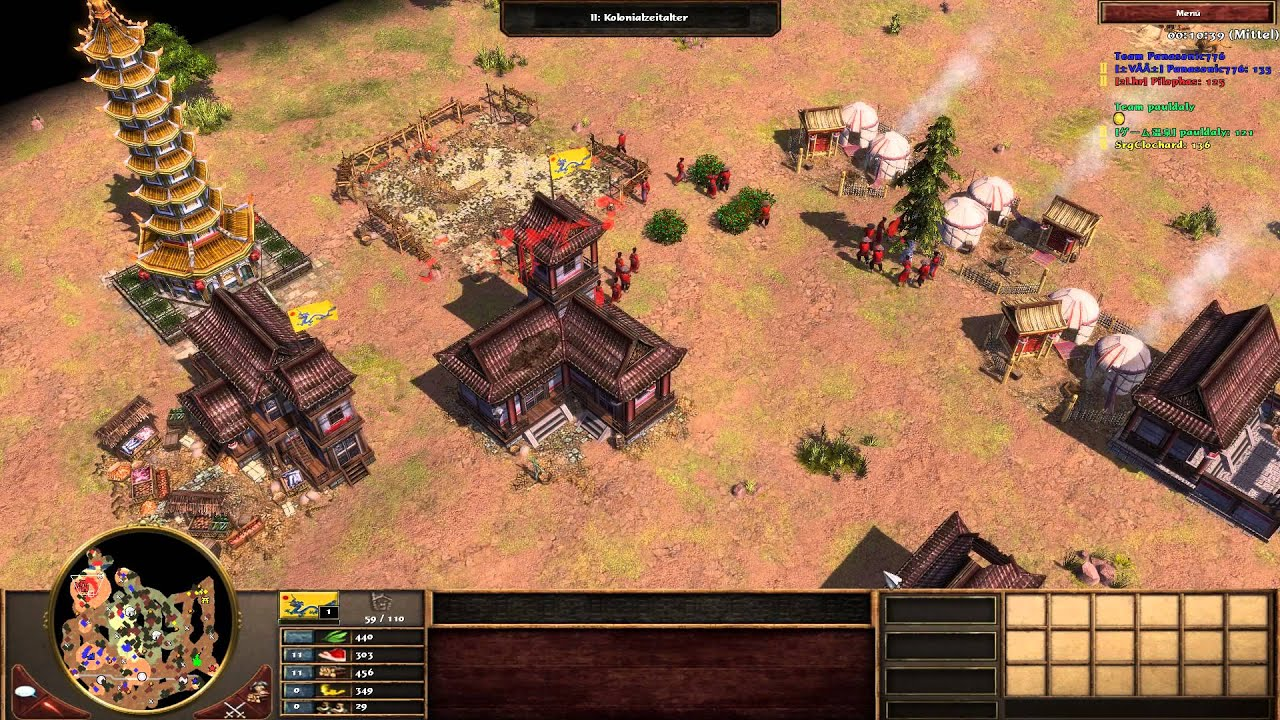 Age Of Empires 3: The Asian Dynasties Cheats, Codes,
